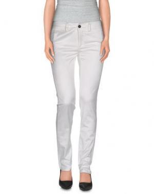 Повседневные брюки LALTRAMODA. Цвет: белый