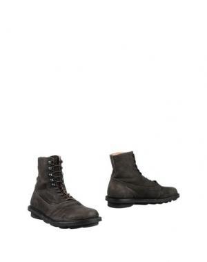 Полусапоги и высокие ботинки TRIPPEN. Цвет: темно-коричневый