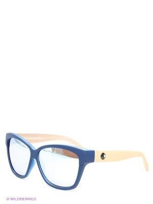 Солнцезащитные очки Franco Sordelli. Цвет: синий, зеленый, бежевый