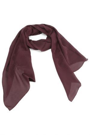 Палантин Givenchy. Цвет: бордовый, жаккардовый