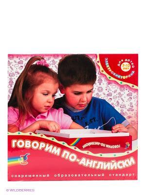Электровикторина Говорим по-английски Дрофа-Медиа. Цвет: красный