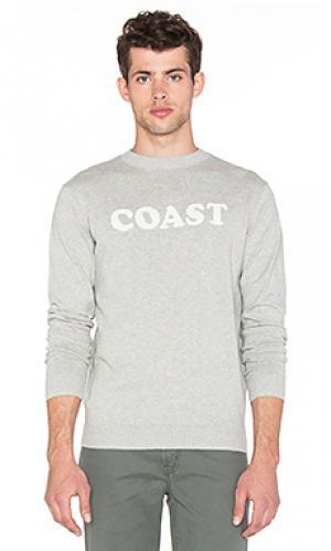Свитер coast Altru. Цвет: серый