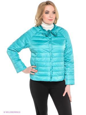 Куртка Sinta Via. Цвет: бирюзовый