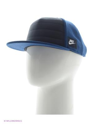 Бейсболка NIKE ADVANCE 15 TRUE - BLUE. Цвет: синий