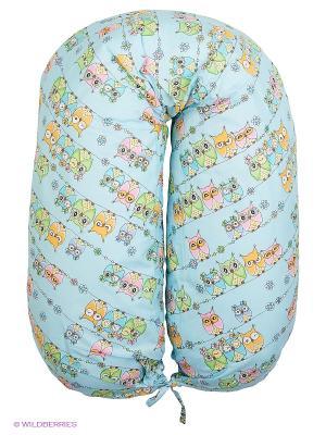 Подушка для беременных EUROMAMA. Цвет: голубой