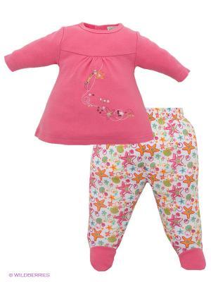 Комплект FS Confeccoes. Цвет: розовый, белый