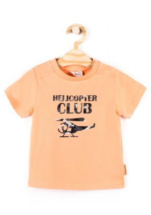 Футболка Coccodrillo. Цвет: оранжевый