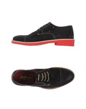 Обувь на шнурках GABARDINE. Цвет: темно-коричневый