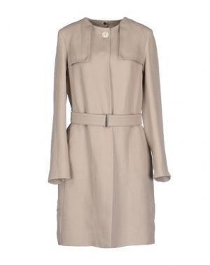 Легкое пальто N_8. Цвет: серый