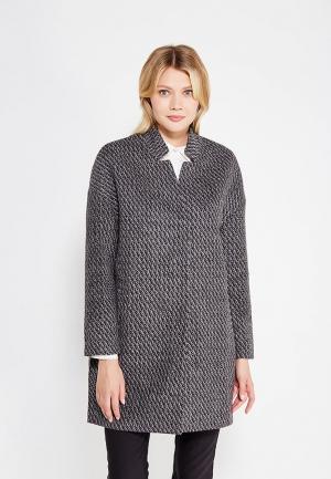 Пальто Sela. Цвет: серый