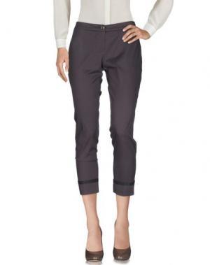 Повседневные брюки REBEL QUEEN. Цвет: светло-коричневый