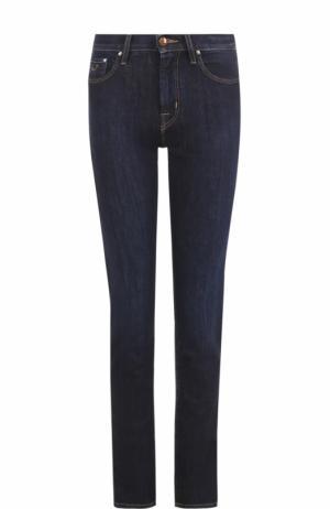 Однотонные джинсы-скинни Jacob Cohen. Цвет: синий
