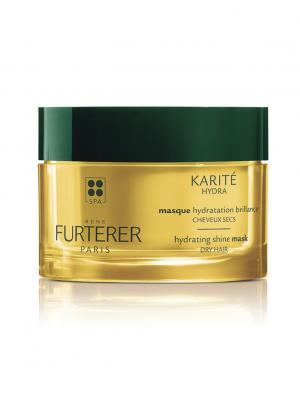 Karite Hydra Увлажняющая маска для сухих волос 200 мл Rene Furterer. Цвет: прозрачный