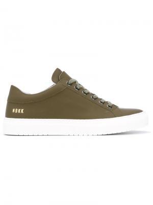 Gomma sneakers Nubikk. Цвет: зелёный