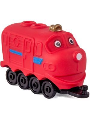 Chuggington паровозик Уилсон. Цвет: красный