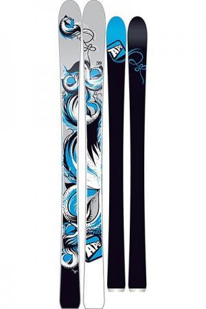Горные лыжи женские  Gigi Grey/Black Apo. Цвет: голубой,черный,серый