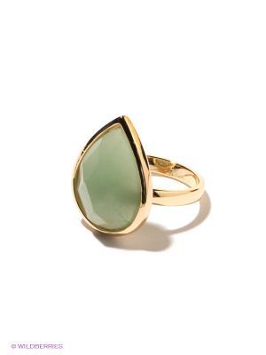 Кольцо Infiniti. Цвет: золотистый, светло-зеленый