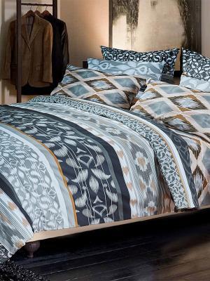 Комплекты постельного белья Primavelle. Цвет: темно-серый, светло-серый, рыжий