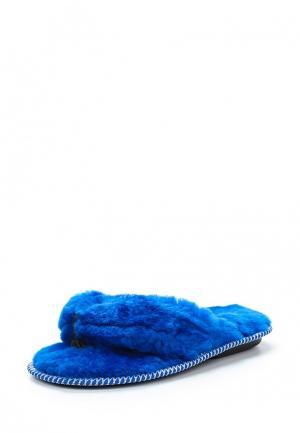 Тапочки Mon Ami. Цвет: синий