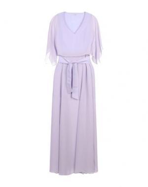 Длинное платье HOPE COLLECTION. Цвет: сиреневый