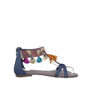 Сандалии кожаные 28100-28 TAMARIS. Цвет: бежевый
