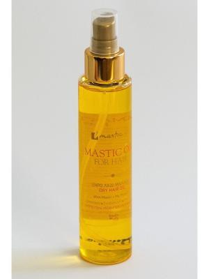 Масло для волос Mastic Oil For Hair Spa. Цвет: желтый