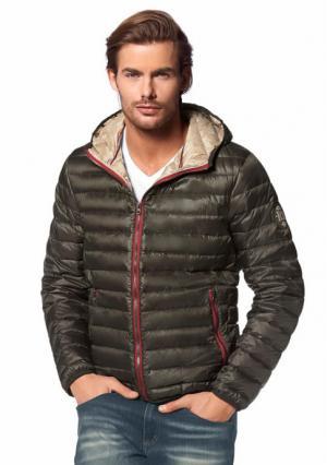 Пуховая куртка Rhode Island. Цвет: оливковый, темно-серый, темно-синий, черный