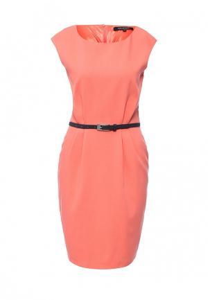 Платье Top Secret. Цвет: коралловый