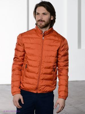 Куртка Baon. Цвет: рыжий