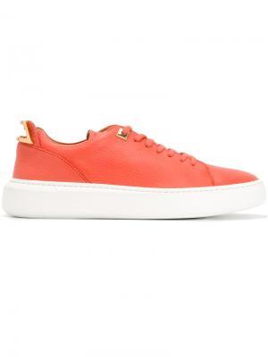 Кроссовки на шнуровке Buscemi. Цвет: розовый и фиолетовый