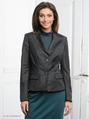 Пиджак Pura. Цвет: серый