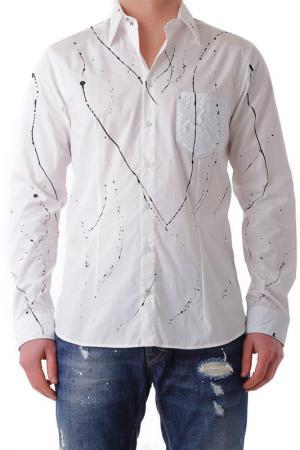 Рубашка BRAY STEVE ALAN. Цвет: белый
