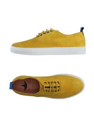Низкие кеды и кроссовки MACCHIA J. Цвет: желтый