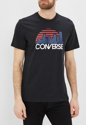 Футболка Converse. Цвет: черный
