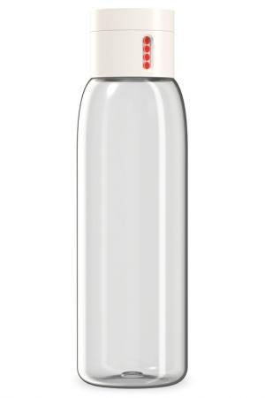 Бутылка для воды Dot, 600 мл Joseph. Цвет: белый