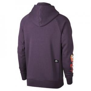 Мужская худи  SB Icon Nike. Цвет: пурпурный