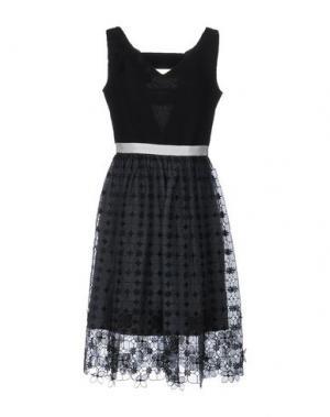 Платье до колена BEATRICE. B. Цвет: черный