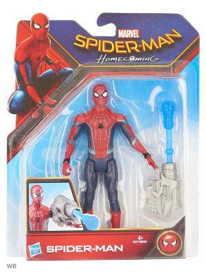 Фигурки паутинный город 15 см Spider-Man. Цвет: темно-синий, красный, синий
