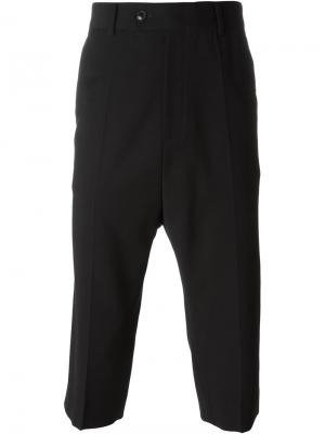 Tailored cropped trousers System Homme. Цвет: чёрный