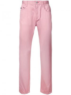 Классические брюки-чинос Loveless. Цвет: розовый и фиолетовый
