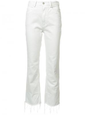 Укороченные брюки Rachel Comey. Цвет: белый