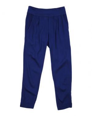 Повседневные брюки EUROPEAN CULTURE. Цвет: синий