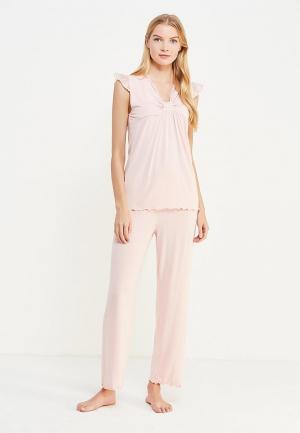 Пижама Luisa Moretti. Цвет: розовый