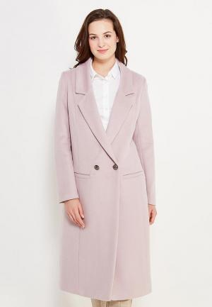 Пальто GK Moscow. Цвет: розовый