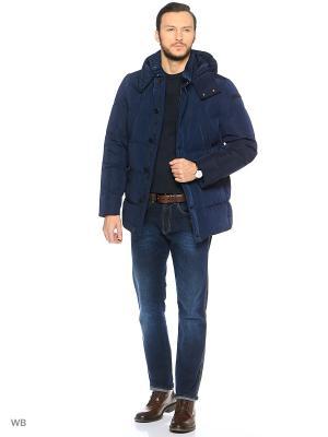 Куртка Trussardi. Цвет: темно-синий