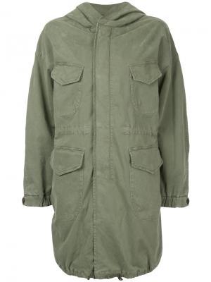 Куртка с капюшоном  North Nili Lotan. Цвет: зелёный
