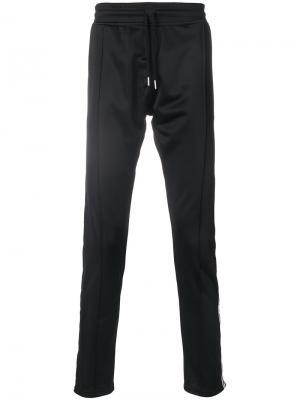Спортивные брюки с полосками по бокам Les (Art)Ists. Цвет: чёрный