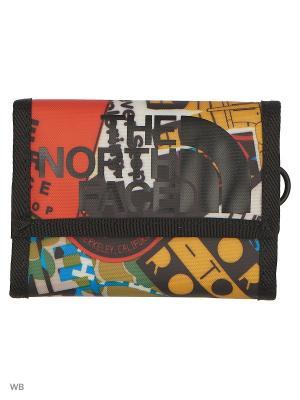 Бумажник BASE CAMP WALLET The North Face. Цвет: синий, красный