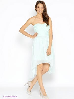 Платье Kira Plastinina. Цвет: светло-зеленый