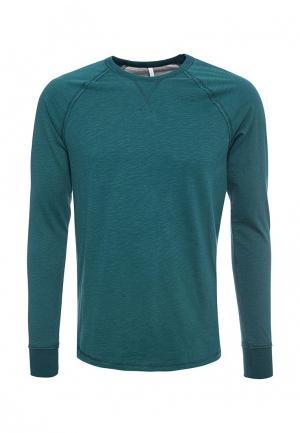 Лонгслив домашний United Colors of Benetton. Цвет: зеленый